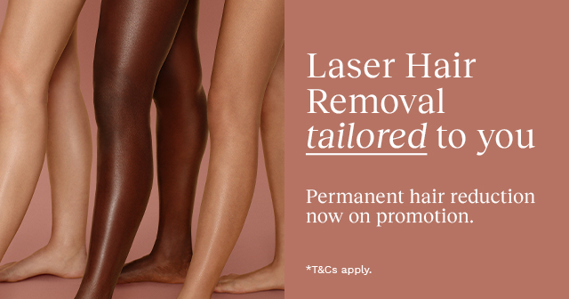 Laser Hair Removal on promotion